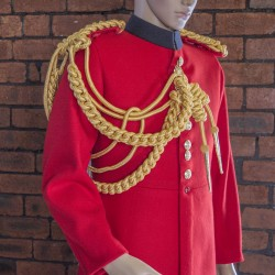 Life Guards - Officers Gold Cord Aiguillette - Right Shoulder - Household Cavalry (HCav), British Army