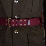 Medium Red Ceremonial Sword Belt - Officers and Bandmasters of Infantry Regiments