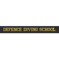 Defence Diving School Cap Tally - Royal Navy