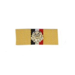 32mm Iraq Medal Ribbon Slider with Rosette