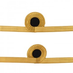 Gold Rank Sleeve Curl - Sub Lieutenant - Royal Navy