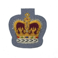 Army Air Corps Large Crown Rank Badge - Warrant Officer Class 2 (WO2) and NCO - British Army