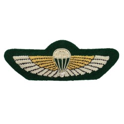 Parachute Wings - Qualification - Special Boat Service (SBS) - Royal Marines (RM) - Royal Navy Badge