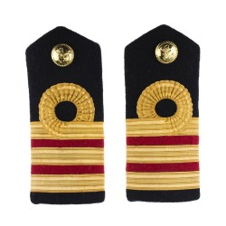 Surgeon Commander (M) - Shoulder Board Epaulette - Royal Navy Officers Badge