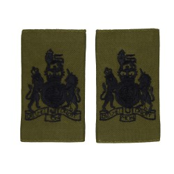 Royal Marines Warrant Officer Class 1 (WO1) - Slider Epaulette - Royal Navy Badge