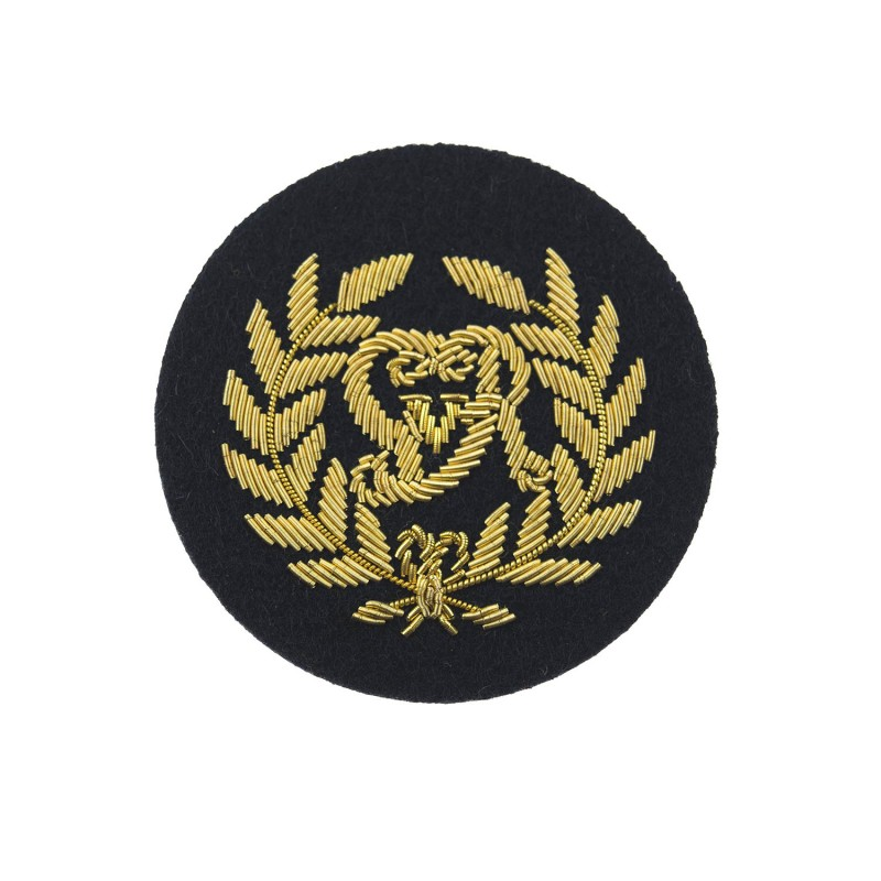 Kings Badge Blue Royal Marines Rm Qualification