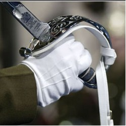 Military White Parade Gloves