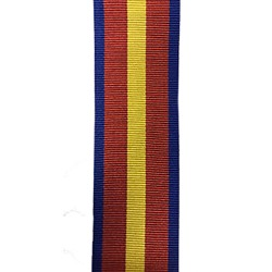 38mm Order of the Crown Medal Ribbon