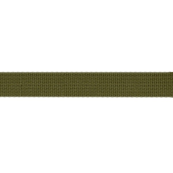 19mm – Avocado Green – Cotton – Webbing