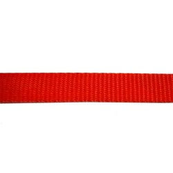 19mm Red Polyethylene Plain Weave - Self Binding Weave - Webbing
