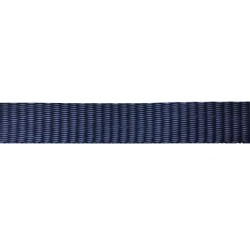 25mm Blue Navy Plain Weave - Self Binding Weave - Webbing